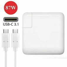 Macbook Charger 87W type C - Compatible