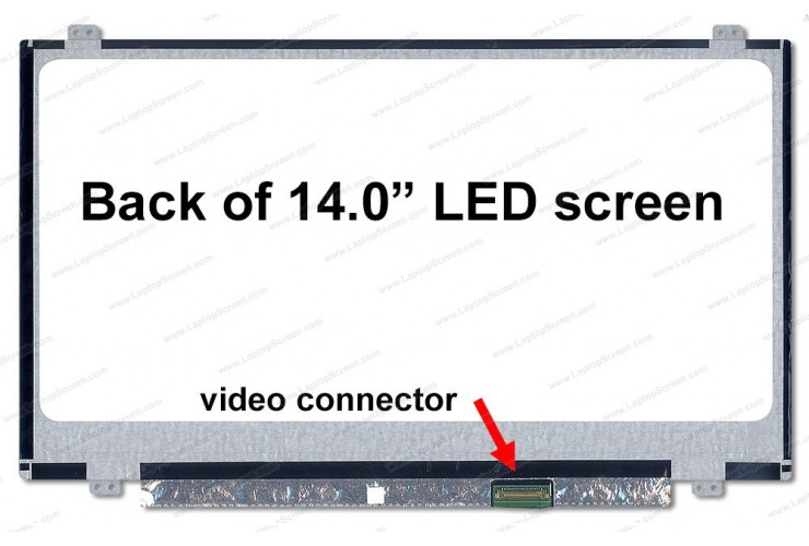 14.0 Slim LED 30Pin Connector HD (1366x768)